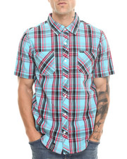LRG - BORN TO THRILL S/S BUTTON-DOWN