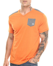Basic Essentials - V-Neck Pocket S/S Tee