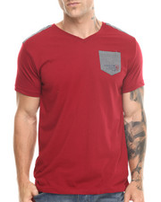 T-Shirts - V-Neck Pocket S/S Tee