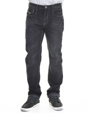Basic Essentials - Multi - Stitch Flap - Pocket Denim Jeans