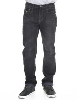 Basic Essentials - Multi - Stitch Flap - Pocket Denim Jeans