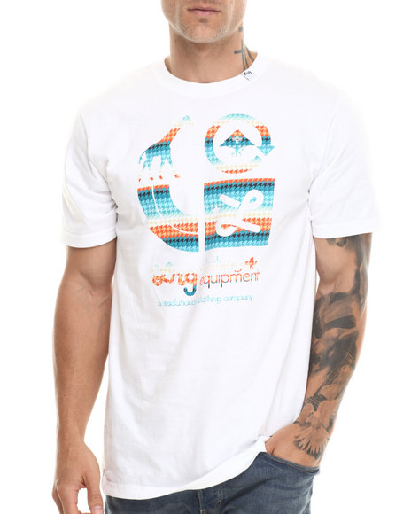 Lrg - Men White The Brighter Side S/S Tee