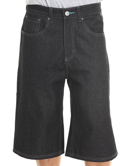 Enyce - Men Black New Tradition Denim Short