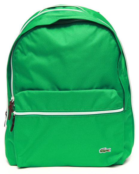 Lacoste Men Backcroc Small Backpack Green