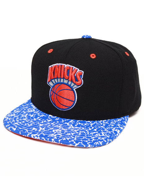 Mitchell & Ness Men New York Knicks Speckled Snapback Hat Black - $24.99