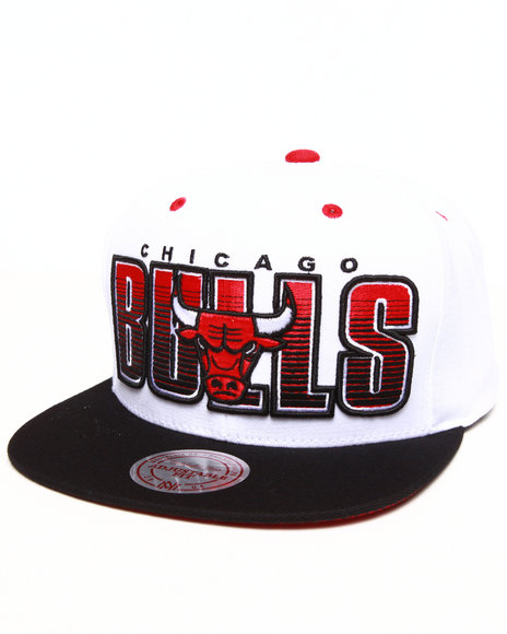 Mitchell & Ness Chicago Bulls Home Stand Snapback Hat White