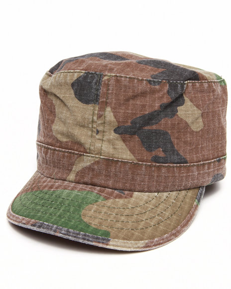 Drj Army/Navy Shop Women Vintage Camo Cap Camo