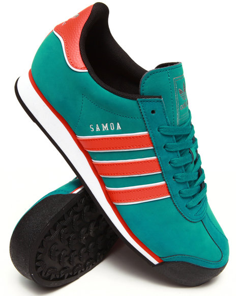 Adidas - Men Teal Samoa Sneakers - $53.99