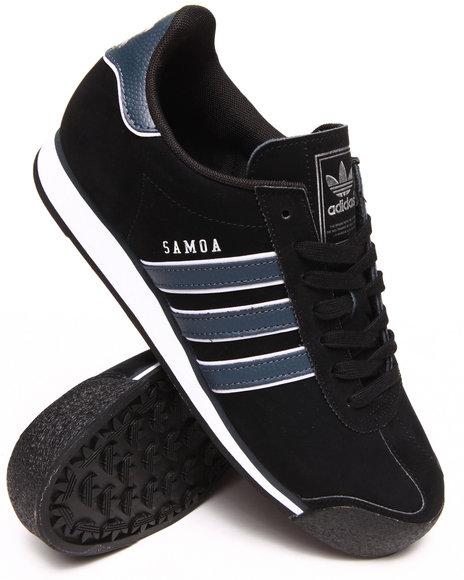 Adidas - Men Black Samoa Sneakers
