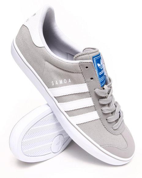 Adidas - Men Grey Samoa Vulc Sneakers
