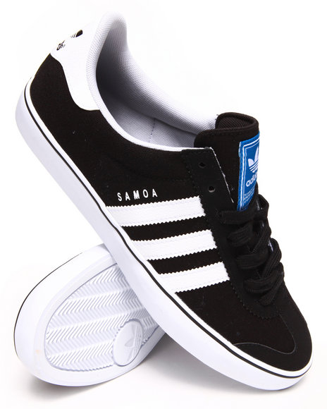 Adidas - Men Black Samoa Vulc Sneakers