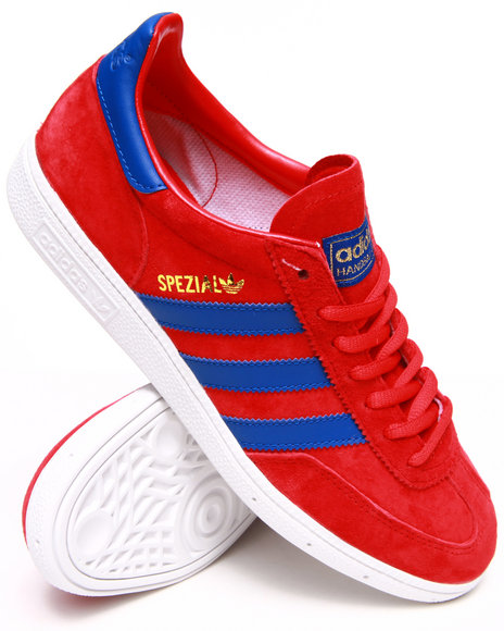 Adidas - Men Red Spezial Sneakers