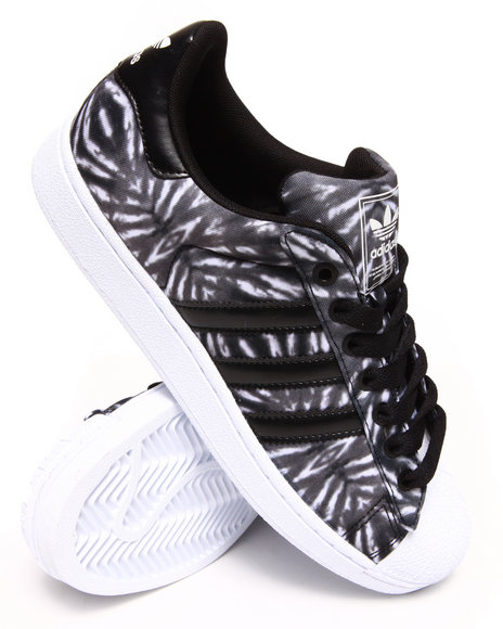 Adidas Black Superstar 2 Solar Burst Sneakers