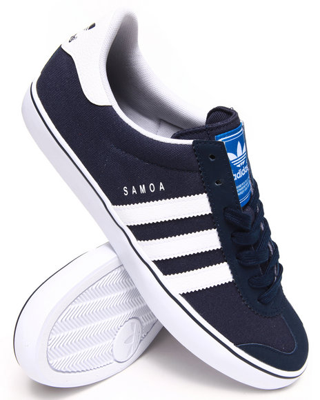 Adidas - Men Navy Samoa Vulc Sneakers