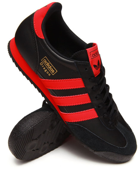 Adidas Black,Red Dragon Sneakers