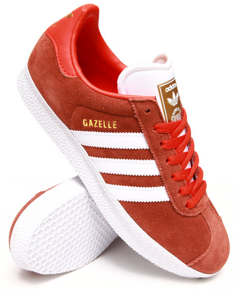 Adidas - Men Red Gazelle Ii Sneakers
