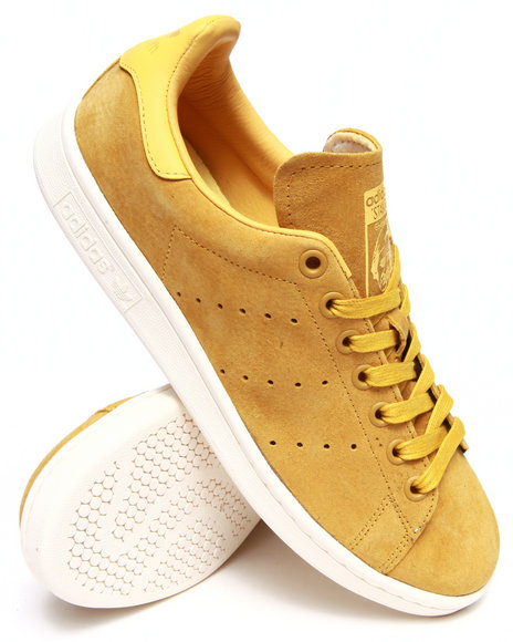 Adidas Yellow Stan Smith Suede Sneakers
