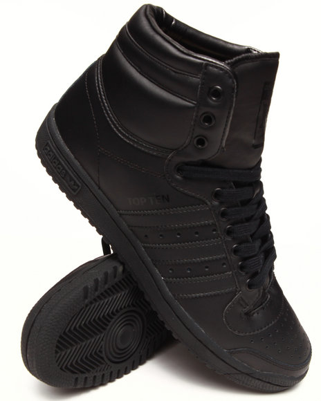 Adidas Black Top Ten Hi Sneakers