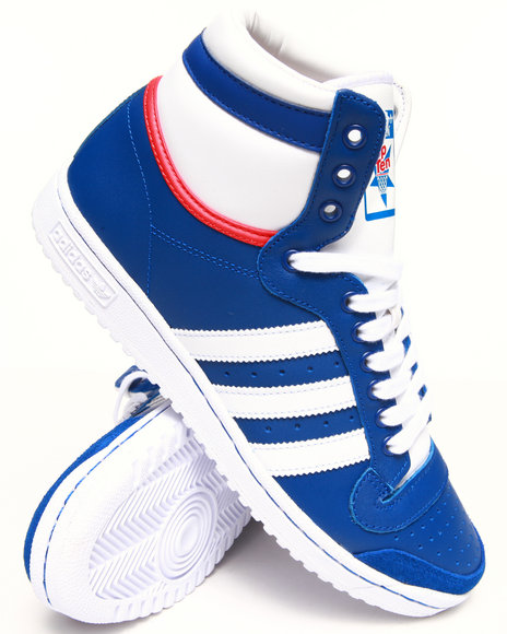 Adidas Blue Top Ten Hi Sneakers