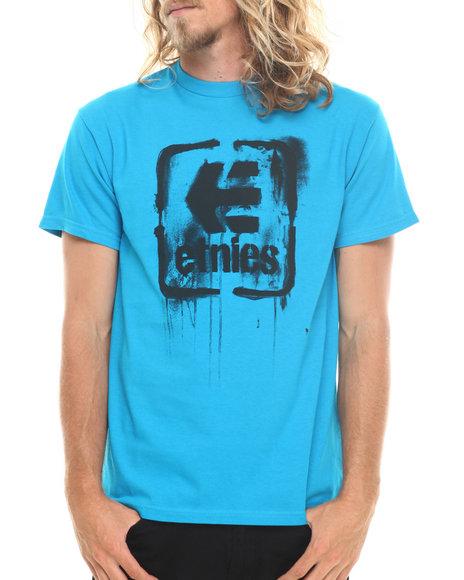 Etnies - Men Blue Smash Hit Tee - $8.99