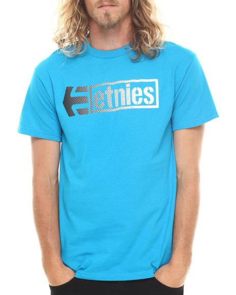 Etnies - Men Blue Stencil Box Tee - $9.99