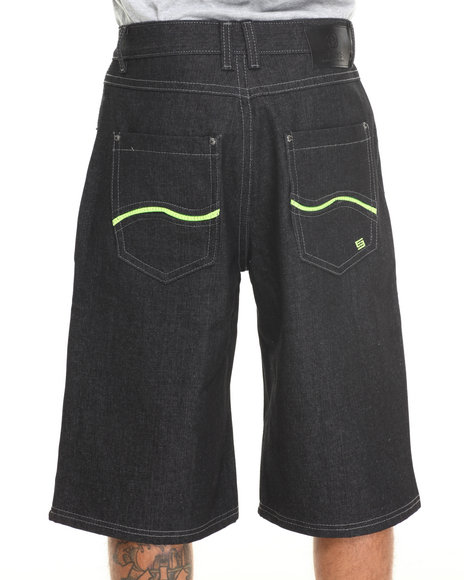 Enyce - Men Green New Tradition Denim Short