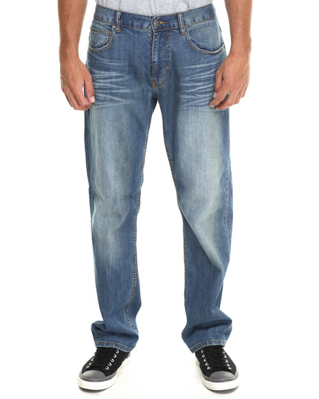Lrg - Men Medium Wash The Break Aways True - Straight Jeans