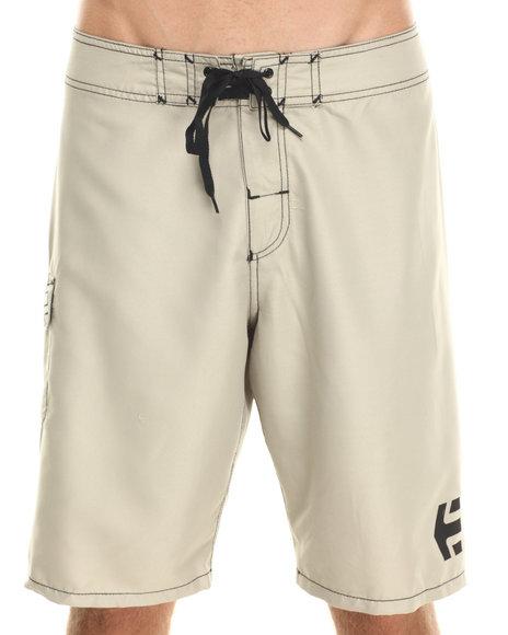 Etnies - Men Tan Board Shorts - $18.99