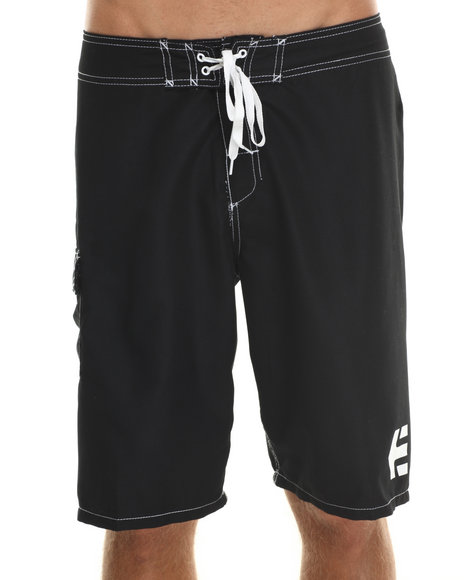 Etnies - Men Black Board Shorts - $18.99
