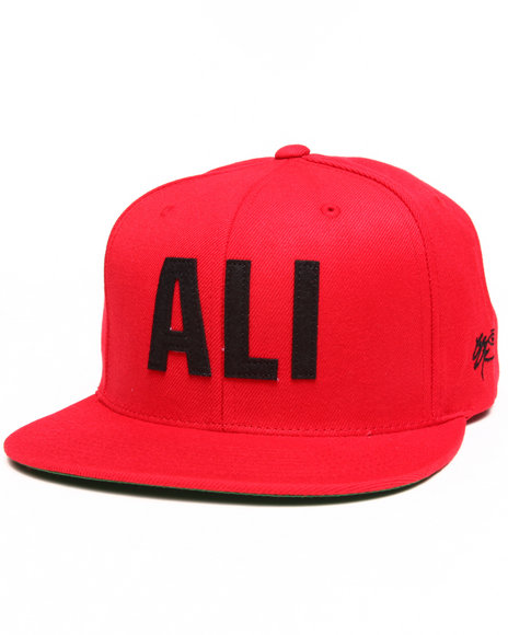 Ssur Men Ali Snapback Cap Red