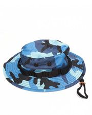 DRJ Army/Navy Shop - Sky Blue Camo Bucket Hat