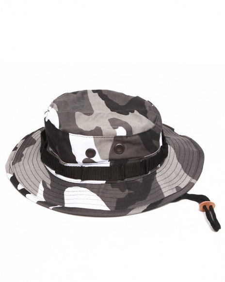 Men Camo City Camo Bucket Hat