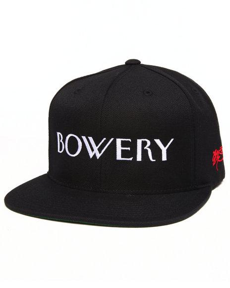 Ssur Bowery Snapback Cap Black
