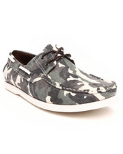 Men - City Camo Boat Shoe
