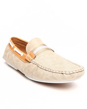 Footwear - Faux Suede Penny driving loafer