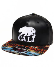 Men - Cali Bear sleek strapback hat
