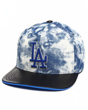 Men - Los Angeles Dodgers Fury Acid Wash Strapback Hat