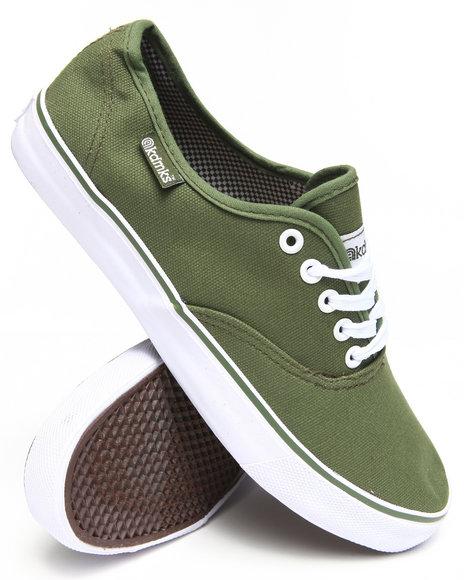 Akademiks - Men Olive Zack Classic Canvas Shoe
