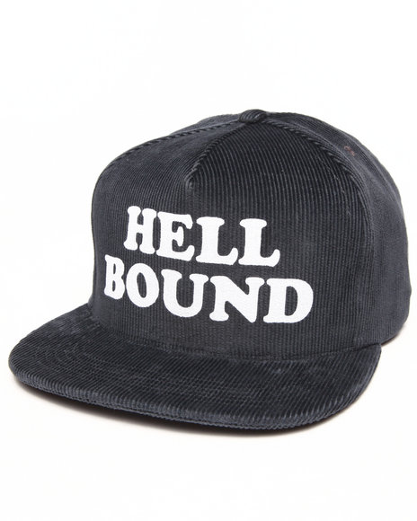 Deadline Men Hell Bound Strapback Cap Navy