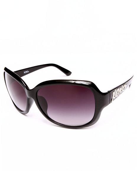Xoxo Women Confetti Sunglasses Black