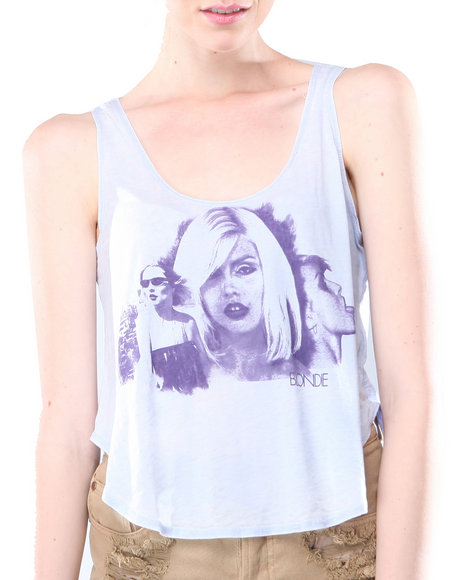 Djp Outlet - Women Purple Chaser Pretty Blondie Tee - $18.99