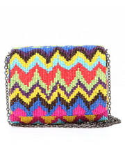 Bags - SANTI Chevron Beaded Bag