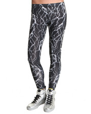 Leggings - See You Monday Lightning Print Leggings