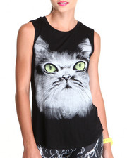 Tanks, Tubes & Camis - See You Monday PurrFect Sleeveless Top