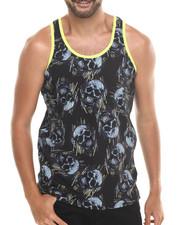 Shirts - Skull Glow - Trimmed Tank
