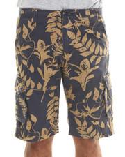 Men - Leafy Cargo Shorts