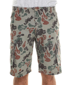 Waimea - Splatter Camo Cargo Shorts