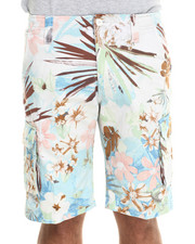 Buyers Picks - Pastel Floral Cargo Shorts
