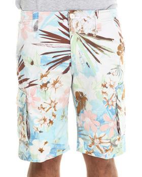 Waimea - Pastel Floral Cargo Shorts