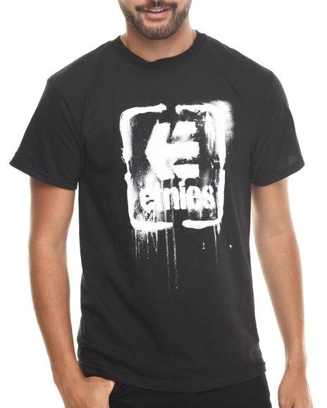 Etnies - Men Black Smash Hit Tee - $10.99